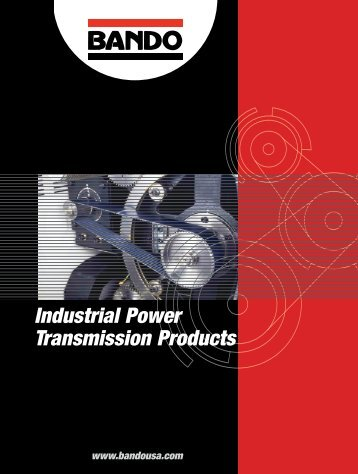 Industrial Power Transmission Products - Bando USA