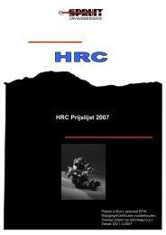 HRC prijslijst 1.4.2007 MM-MW - Spruit Transmissies BV