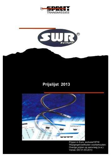 SWR 2013 - Spruit Transmissies BV