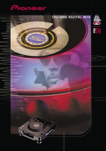 CDJ-1000 DIGITAL DECK