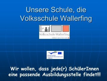Unsere Schule, die Volksschule Geisenhausen - sprungbrett Bayern