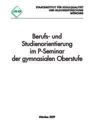 Berufs- und Studienorientierung im P-Seminar der gymnasialen ...