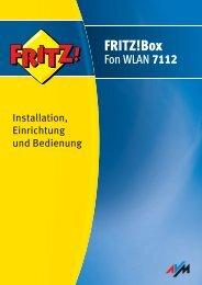 Handbuch Fritz!box Fon WLAN 7112