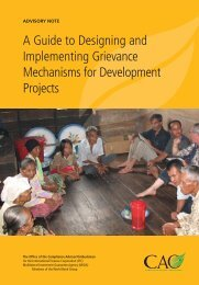 A Guide to Designing and Implementing Grievance Mechanisms for ...