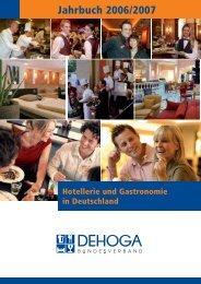 Hotellerie und Gastronomie auch in Deutschland - DEHOGA ...