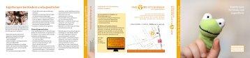 Ergotherapie für Kinder (PDF) - Ergotherapie Pfeiffenberger, Elmshorn