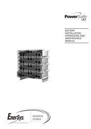 EN-VM-IOM-002 - Enersys - EMEA