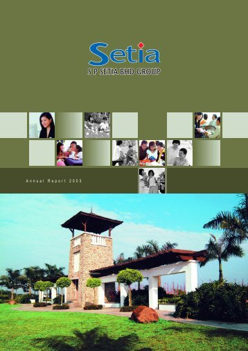 31 October 2003 - S P Setia Berhad