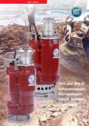 SPX 80R - SPT Pumpen