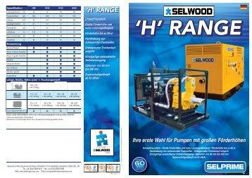 H-Serie - SPT Pumpen