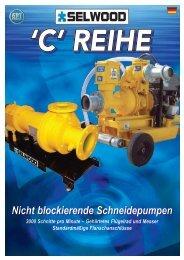 Nicht blockierende Schneidepumpen - SPT Pumpen