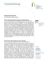 Download - Nominierte Projekte im Detail - Stiftung Polytechnische ...