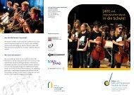 Jazz und - Stiftung Polytechnische Gesellschaft