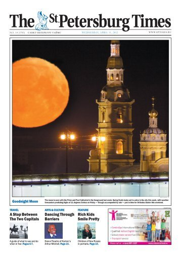 PDF version - The St. Petersburg Times