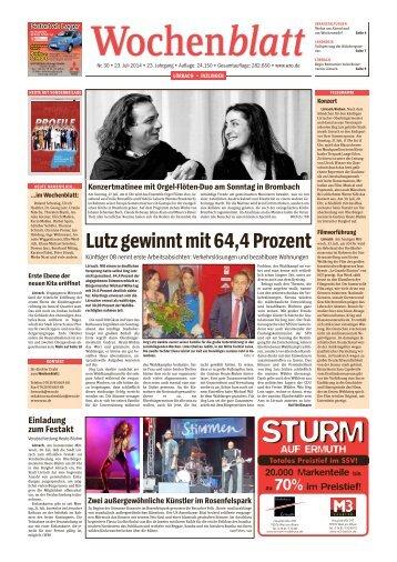 Wochenblatt KW 30