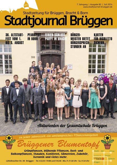 Stadtjournal Brüggen Juli 2014