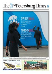 PDF version - The St. Petersburg Times