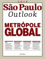 PIB PoPulação MoBIlIdade Bolsa de valores - São Paulo Turismo