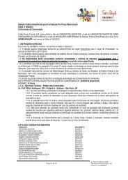Seleção Pública Simplificada para Contratação Por Prazo ...