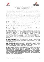 155ª Reunião do COMTUR - São Paulo Turismo