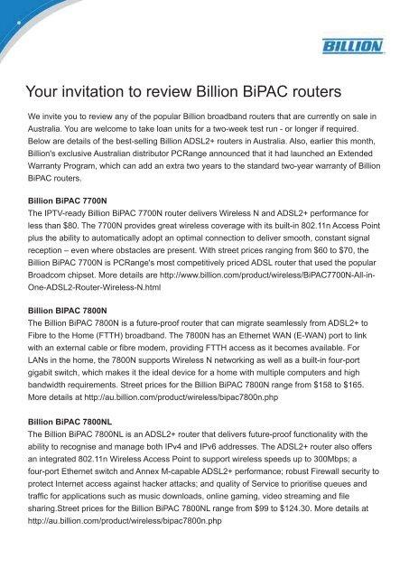 BILLION BIPAC 3011G DRIVER FOR MAC