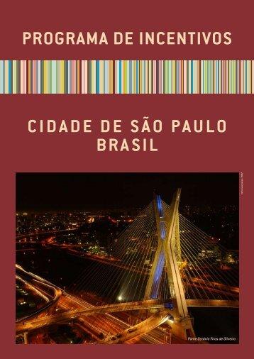 programa de incentivos - São Paulo Turismo