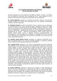154ª Reunião do COMTUR - São Paulo Turismo