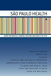 SÃO PAULO HEALTH - São Paulo Turismo