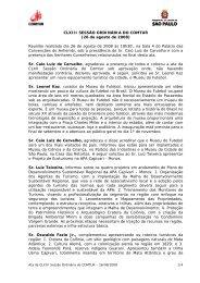 163ª Reunião do COMTUR - São Paulo Turismo