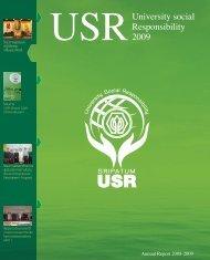 รายงานประจำปี 2008-2009 - มหาวิทยาลัยศรีปทุม