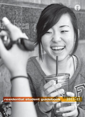 residential student guidebook - Seattle Pacific University