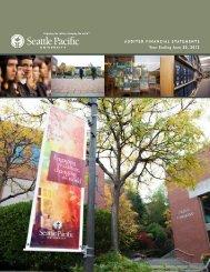 June 30, 2012 - Seattle Pacific University