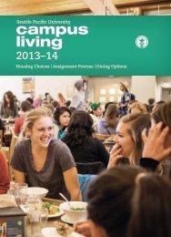 Campus Living Booklet 2013-2014 (PDF) - Seattle Pacific University