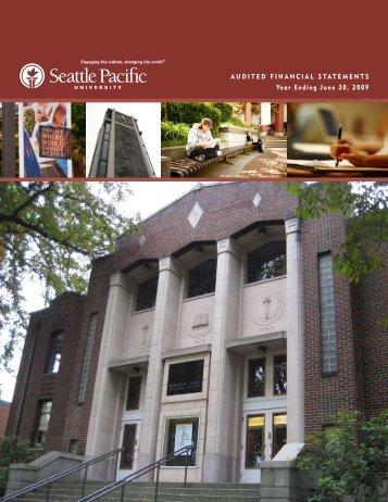 June 30, 2009 - Seattle Pacific University
