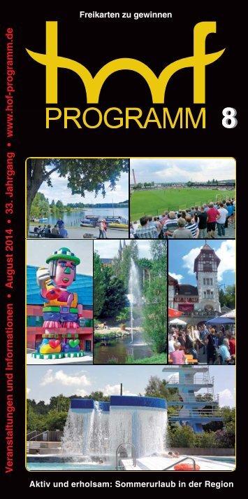 hof-programm - August 2014