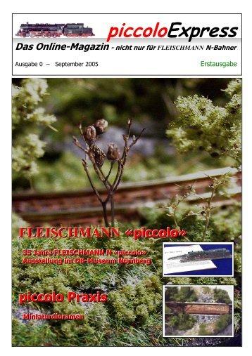 piccoloExpress - Spur N Datenbank