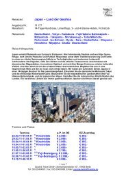 Japan – Land der Geishas - Sputnik Travel GmbH