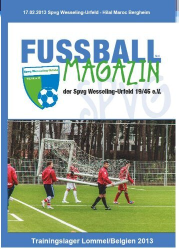 Heft 8 - Spvg Wesseling-Urfeld 19/46 eV