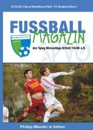 Geschäftsführung - Spvg Wesseling-Urfeld 19/46 eV