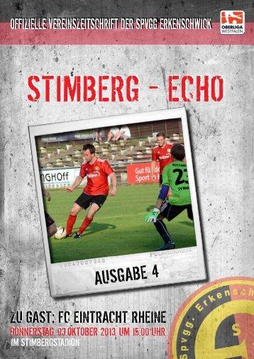 Stimberg-Echo Eintracht Rheine - SpVgg Erkenschwick