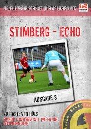 Stimberg-Echo VFB Hüls - SpVgg Erkenschwick