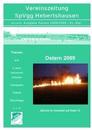 Entwurf 9. Ausgabe - SpVgg Hebertshausen