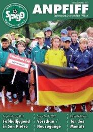 Ausgabe August/September - SpVgg Ingelheim