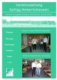 Ausgabe 9 - SpVgg Hebertshausen
