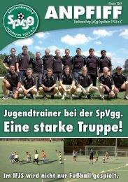 Ausgabe Oktober - SpVgg Ingelheim