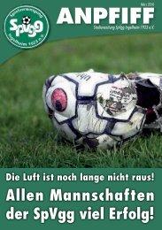 Ausgabe März - SpVgg Ingelheim
