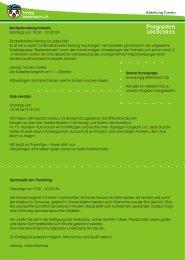 Programm 2010/2011 - SpVgg Jettenbach e.V.