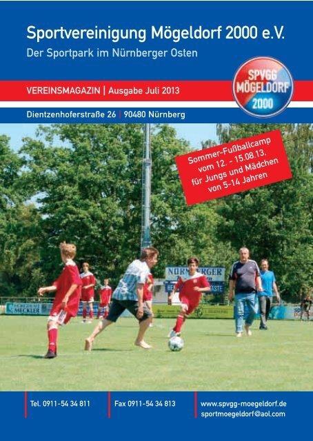 zum Durchblättern - SPVGG Mögeldorf 2000