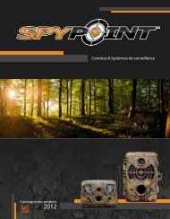 Catalogue 2012 - SpyPoint
