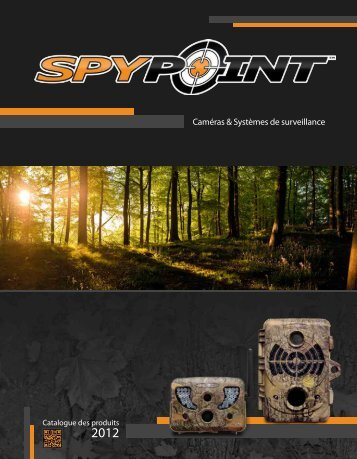 Catalogue 2012 - SpyPoint